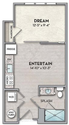 Studio 1 Bathroom Apartment for rent at The Normandy in Columbus, OH