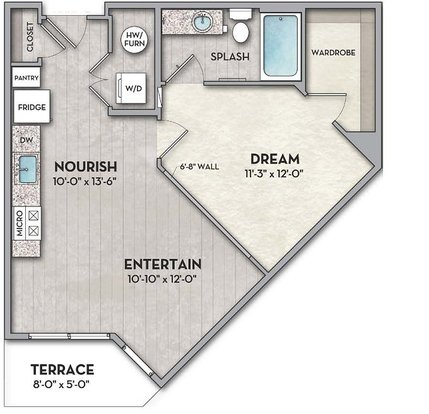 1 Bedroom 1 Bathroom Apartment for rent at The Normandy in Columbus, OH