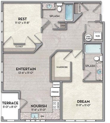 2 Bedrooms 2 Bathrooms Apartment for rent at The Normandy in Columbus, OH
