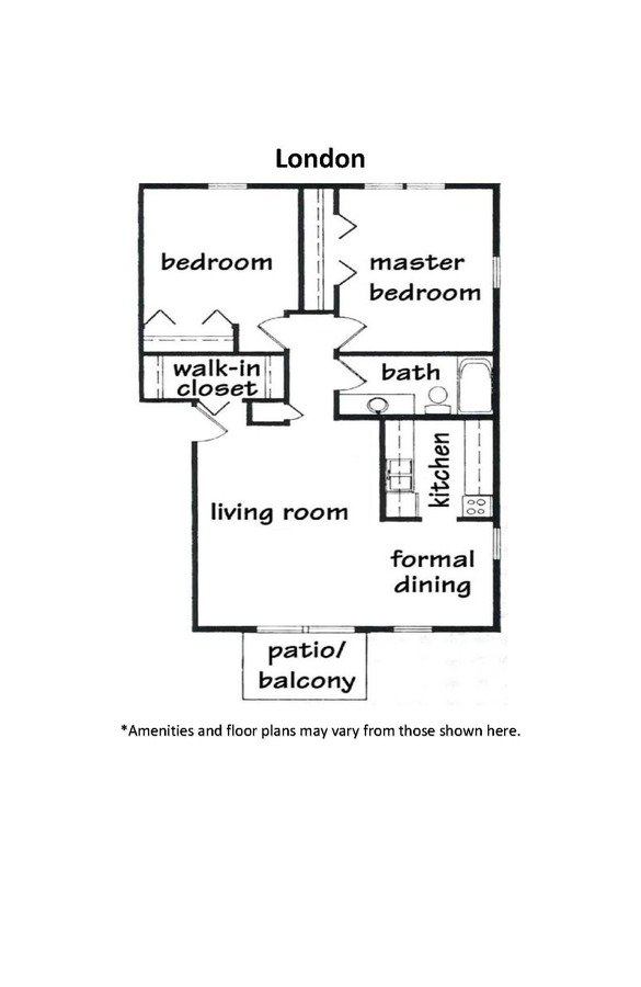 2 Bedrooms 1 Bathroom Apartment for rent at High Point Commons in Madison, WI