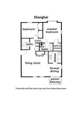 2 Bedrooms 2 Bathrooms Apartment for rent at High Point Commons in Madison, WI