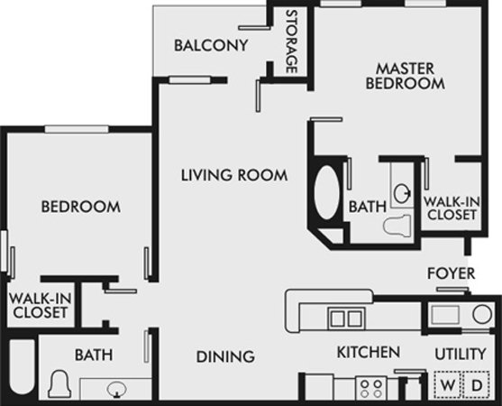2 Bedrooms 2 Bathrooms Apartment for rent at The Bluffs At Riverview in Birmingham, AL