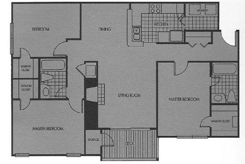 3 Bedrooms 2 Bathrooms Apartment for rent at Wood Gardens in Birmingham, AL