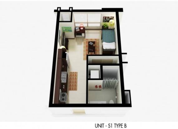 Studio 1 Bathroom Apartment for rent at Varsity Quarters in Madison, WI