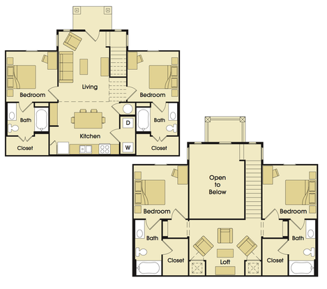 4 Bedrooms 4+ Bathrooms Apartment for rent at Avalon Place in San Antonio, TX