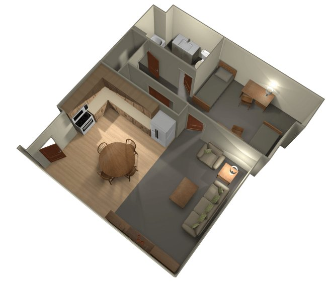1 Bedroom 1 Bathroom Apartment for rent at University Gateway in Los Angeles, CA