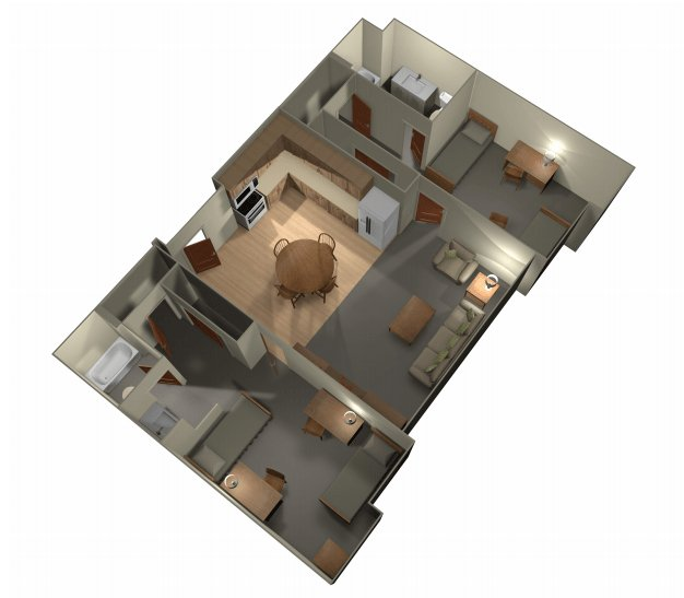 2 Bedrooms 2 Bathrooms Apartment for rent at University Gateway in Los Angeles, CA