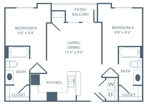 2 Bedrooms 2 Bathrooms Apartment for rent at The Pavilion on Berry in St Paul, MN