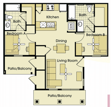Parkway place apartments college station tx - 2 bedroom apartments in college station ...