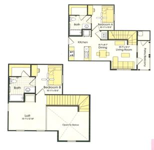 2 Bedrooms 2 Bathrooms Apartment for rent at Parkway Place in College Station, TX