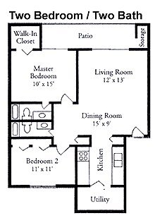 2 Bedrooms 2 Bathrooms Apartment for rent at Spring Hollow Apartments in Toledo, OH