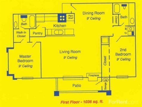 2 Bedrooms 2 Bathrooms Apartment for rent at Oasis At Inver-west in Toledo, OH