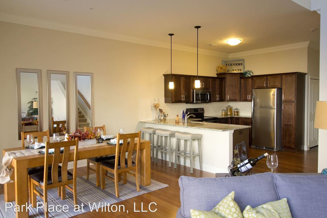 3 Bedrooms 2 Bathrooms Apartment for rent at Park Place At Wilton in Gansevoort, NY