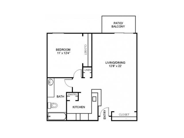 1 Bedroom 1 Bathroom Apartment for rent at Residences At Arlington Heights in Arlington Heights, IL