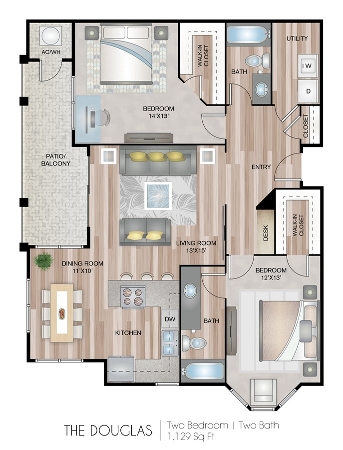 2 Bedrooms 2 Bathrooms Apartment for rent at Briargate On Main in Parker, CO
