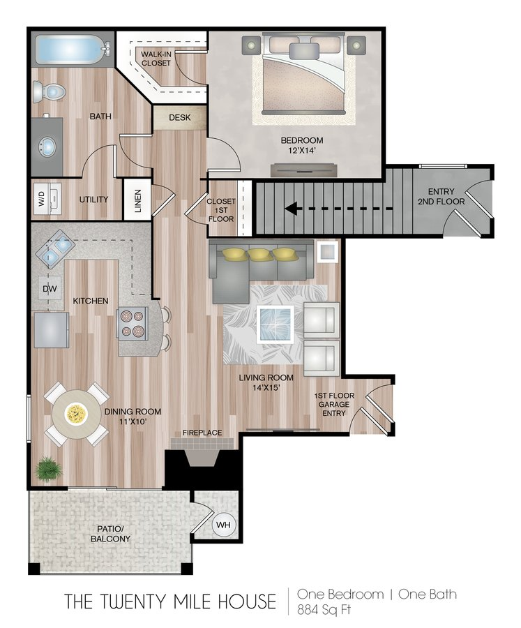 1 Bedroom 1 Bathroom Apartment for rent at Briargate On Main in Parker, CO