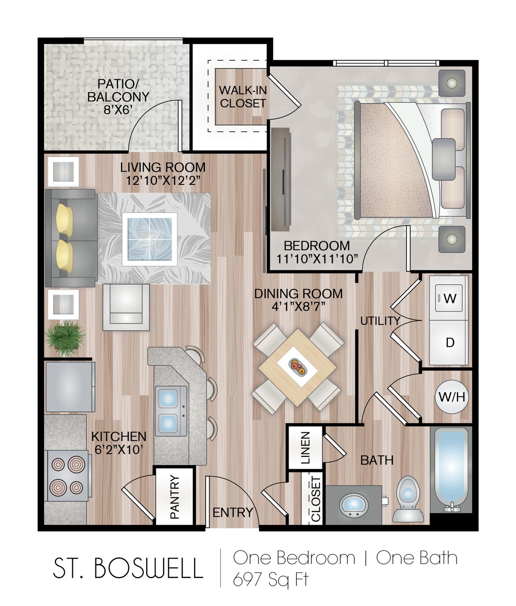 Hideaway Lake Luxury Apartments