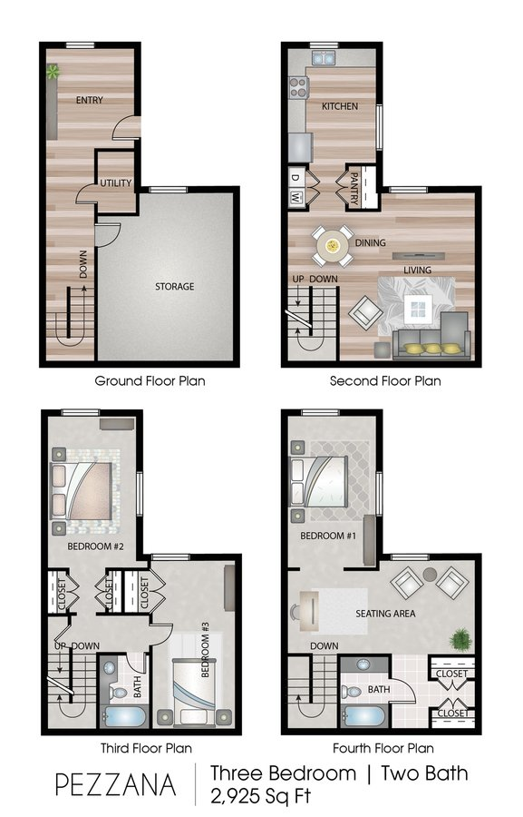 3 Bedrooms 2 Bathrooms Apartment for rent at Apex Manayunk in Philadelphia, PA