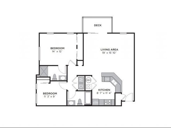 2 Bedrooms 2 Bathrooms Apartment for rent at Lc Hamburg Farms in Lexington, KY