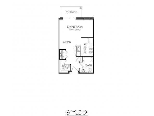 Studio 1 Bathroom Apartment for rent at Parmenter Circle I in Middleton, WI