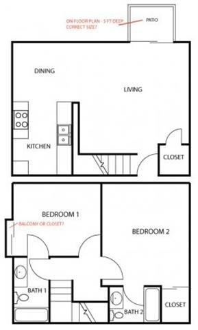 2 Bedrooms 2 Bathrooms Apartment for rent at Vanowen Manor I in Van Nuys, CA
