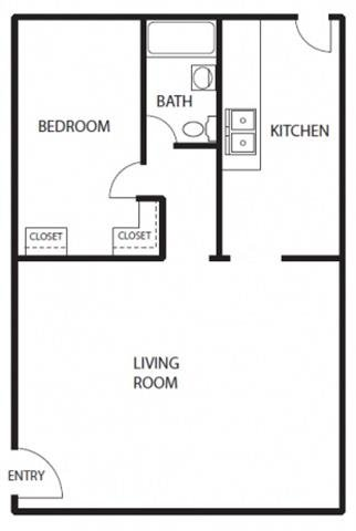 1 Bedroom 1 Bathroom Apartment for rent at Crenshaw Terrace in Los Angeles, CA
