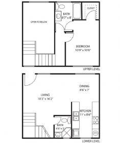 1 Bedroom 1 Bathroom Apartment for rent at Lemoli Apartments in Hawthorne, CA