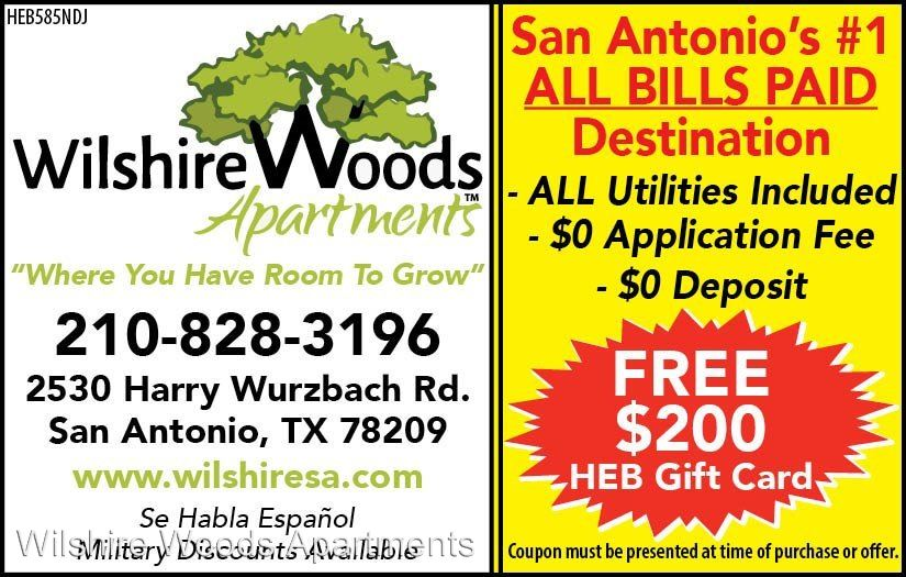 1 Bedroom 1 Bathroom Apartment for rent at 2530 Harry Wurzbach in San Antonio, TX