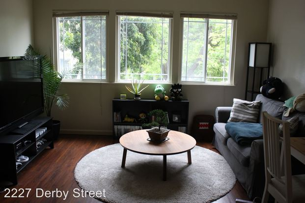 1 Bedroom 1 Bathroom Apartment for rent at 2227 Derby St. in Berkeley, CA