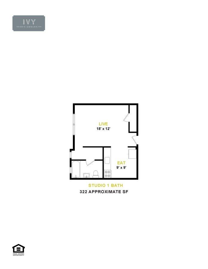 Studio 1 Bathroom Apartment for rent at 5455 S. Blackstone Ave. in Chicago, IL