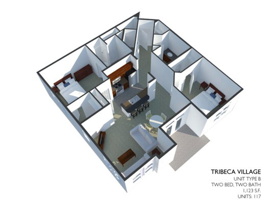 2 Bedrooms 2 Bathrooms Apartment for rent at Tribeca Village in Middleton, WI