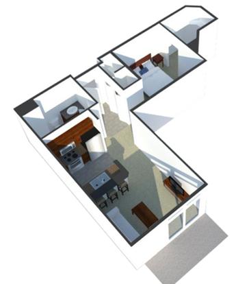 Studio 1 Bathroom Apartment for rent at Tribeca Village in Middleton, WI