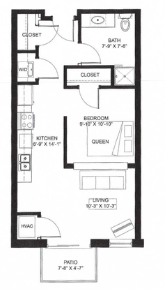 2 Bedrooms 2 Bathrooms Apartment for rent at Middleton Center in Middleton, WI
