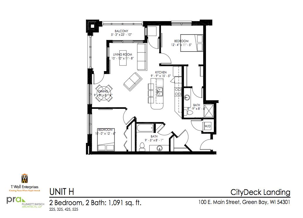 401 N Washington St Green Bay Wi Apartment For Rent,King Modern Black Bedroom Sets