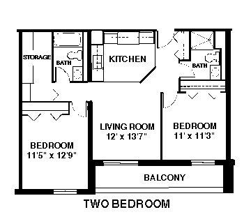 2 Bedrooms 2 Bathrooms Apartment for rent at Capitol Centre Court Apartments in Madison, WI