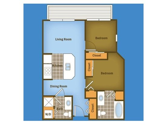 2 Bedrooms 2 Bathrooms Apartment for rent at Eastlake 2851 On Lake Union in Seattle, WA