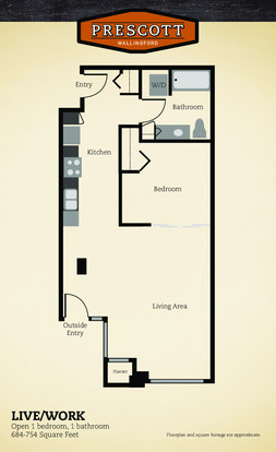 1 Bedroom 1 Bathroom Apartment for rent at Prescott Wallingford Apartments in Seattle, WA