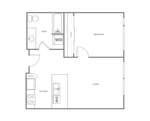 1 Bedroom 1 Bathroom Apartment for rent at Ray in Seattle, WA