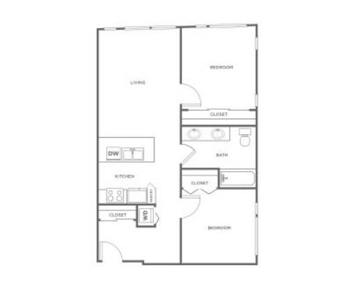 2 Bedrooms 1 Bathroom Apartment for rent at Ray in Seattle, WA
