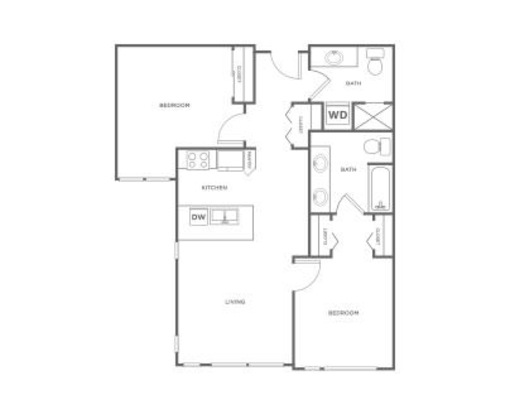 2 Bedrooms 2 Bathrooms Apartment for rent at Ray in Seattle, WA