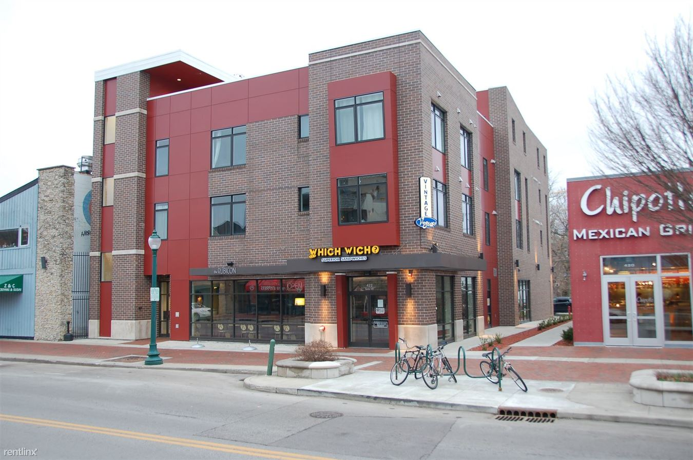 2 Bedrooms 1 Bathroom Apartment for rent at The Rubicon in Bloomington, IN