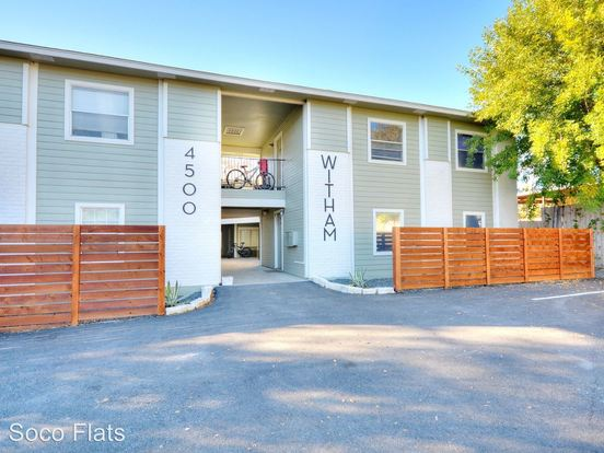 1 Bedroom 1 Bathroom Apartment for rent at 4500 Witham Lane in Austin, TX