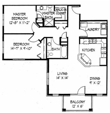 2 Bedrooms 2 Bathrooms Apartment for rent at Aurora Pointe in Madison, WI