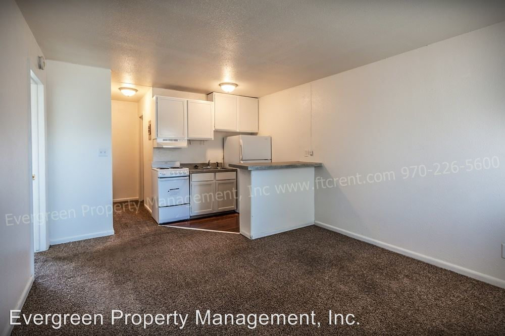 1 Bedroom 1 Bathroom Apartment For Rent At 500 W. Laporte In Fort Collins,