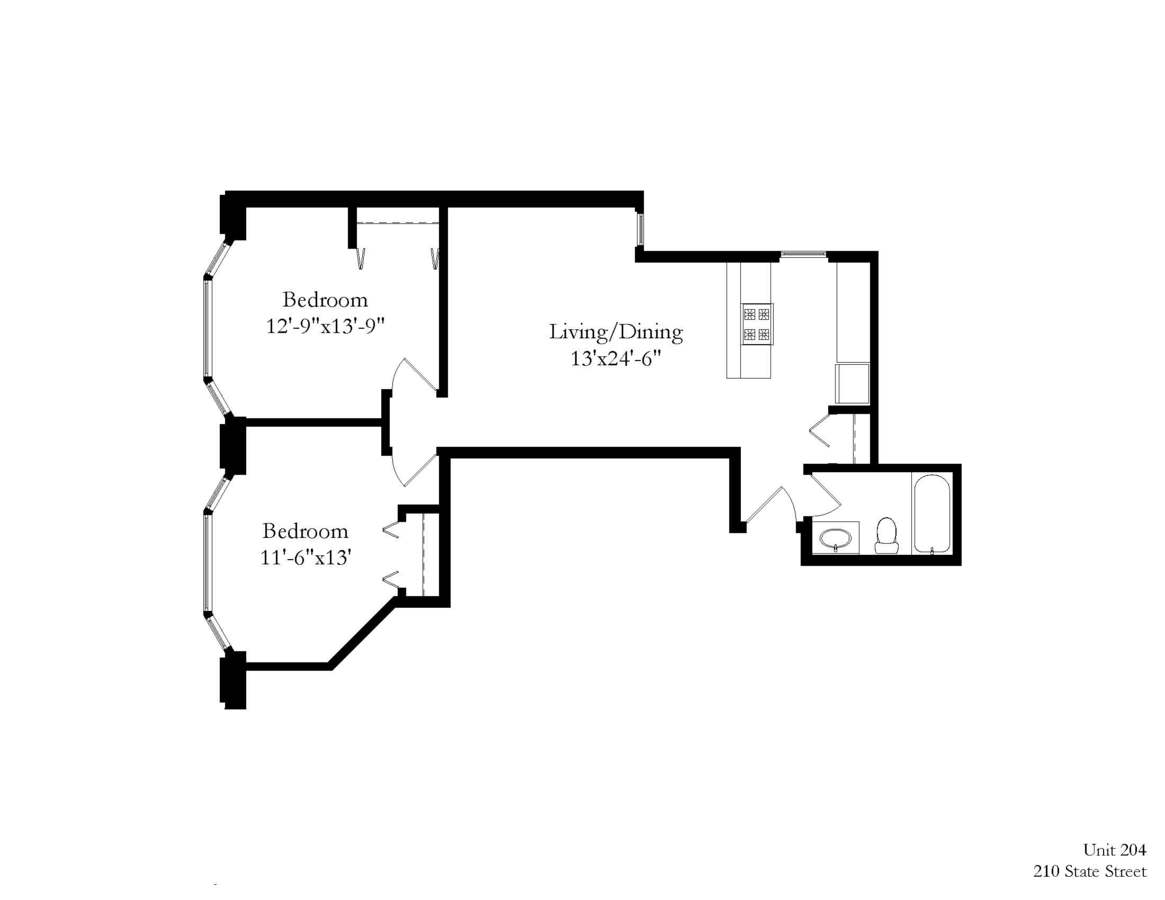 2 Bedrooms 1 Bathroom Apartment for rent at 210 State Street in Madison, WI