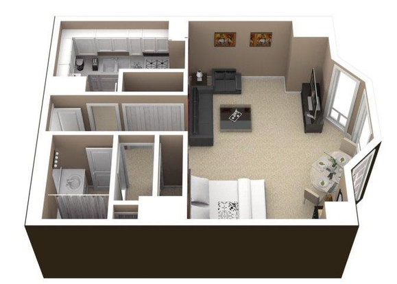 Studio 1 Bathroom Apartment for rent at Elm Street Plaza in Chicago, IL