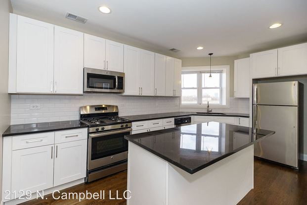 2 Bedrooms 2 Bathrooms Apartment for rent at 2129 N. Campbell Ave 2129 N. Campbell Ave in Chicago, IL