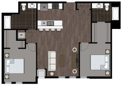 2 Bedrooms 2 Bathrooms Apartment for rent at 2500 Rimrock Apartments in Madison, WI