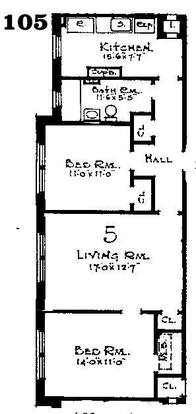 2 Bedrooms 1 Bathroom Apartment for rent at The Blackstone Apartments in Milwaukee, WI