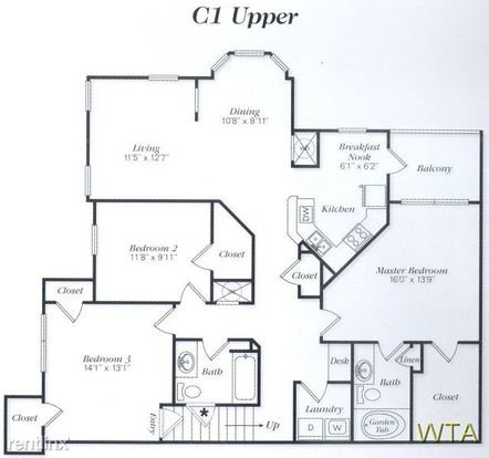 3 Bedrooms 2 Bathrooms Apartment for rent at Parmer And Dessau in Austin, TX